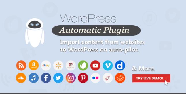 WordPress Automatic PluginWordPress Automatic Plugin