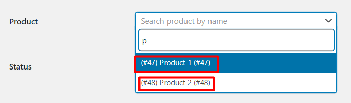 WooCommerce Serial Number- Product