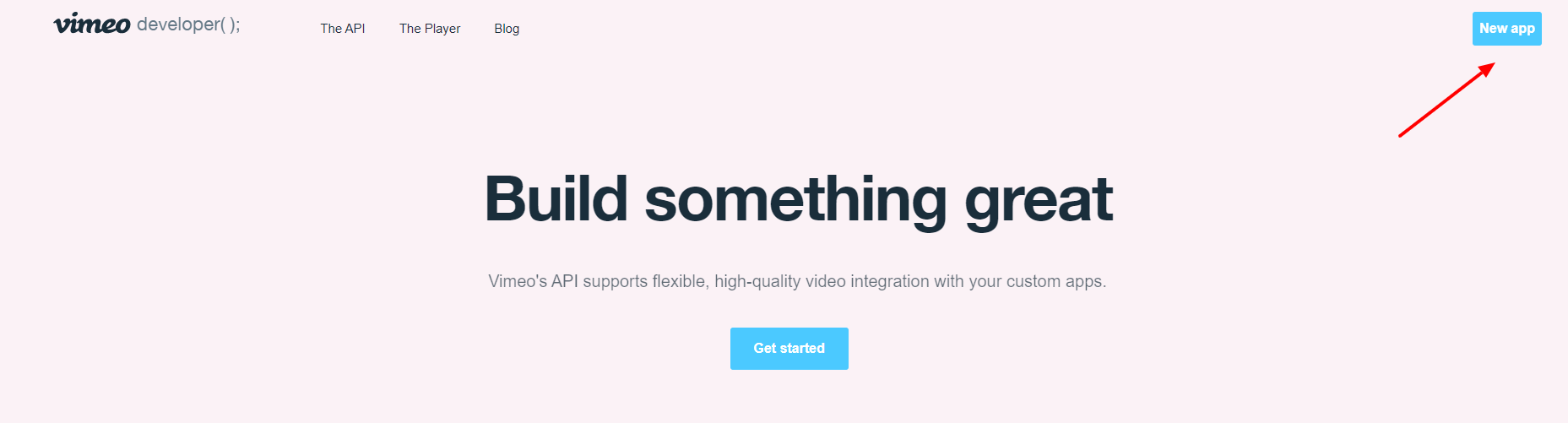 Access token Vimeo