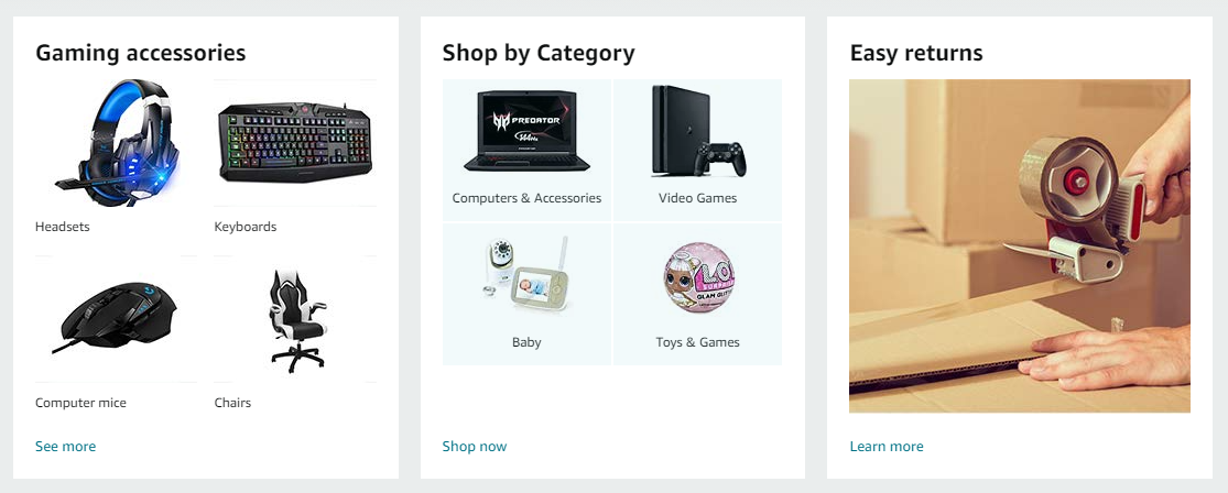 Featured items works to display your hit products