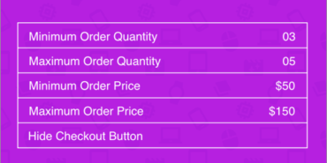 WooCommerce Min Max Quantities Pro